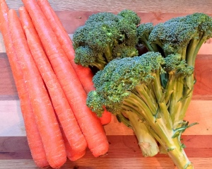 carrots and broccoli pic 2